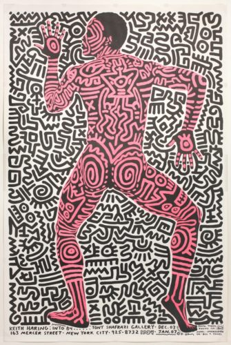 Into 84 by Keith Haring at