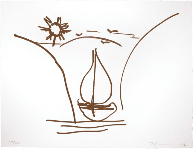 Untitled (antiquity Drawing) by Jeff Koons