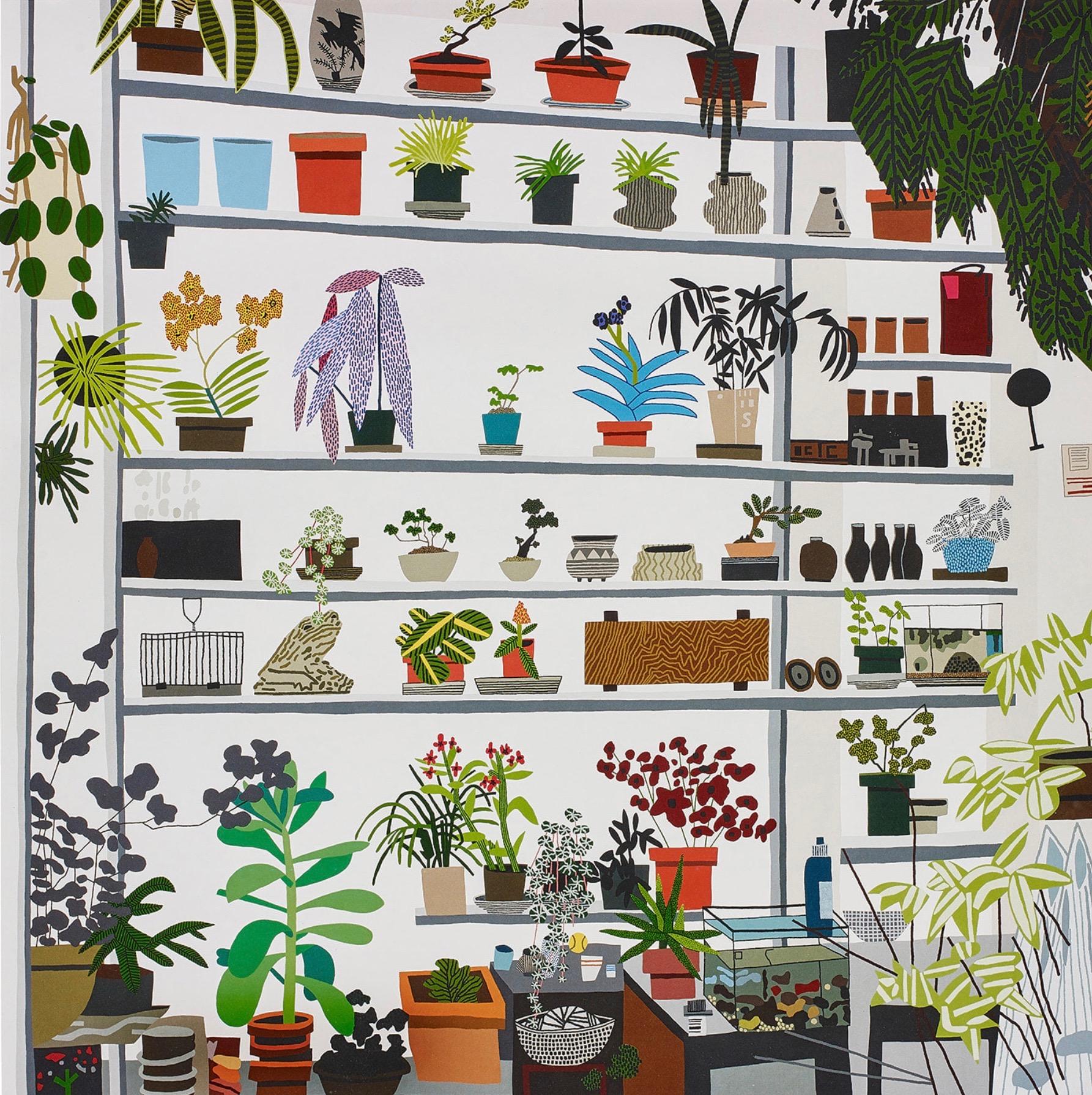 Large Still Life by Jonas Wood