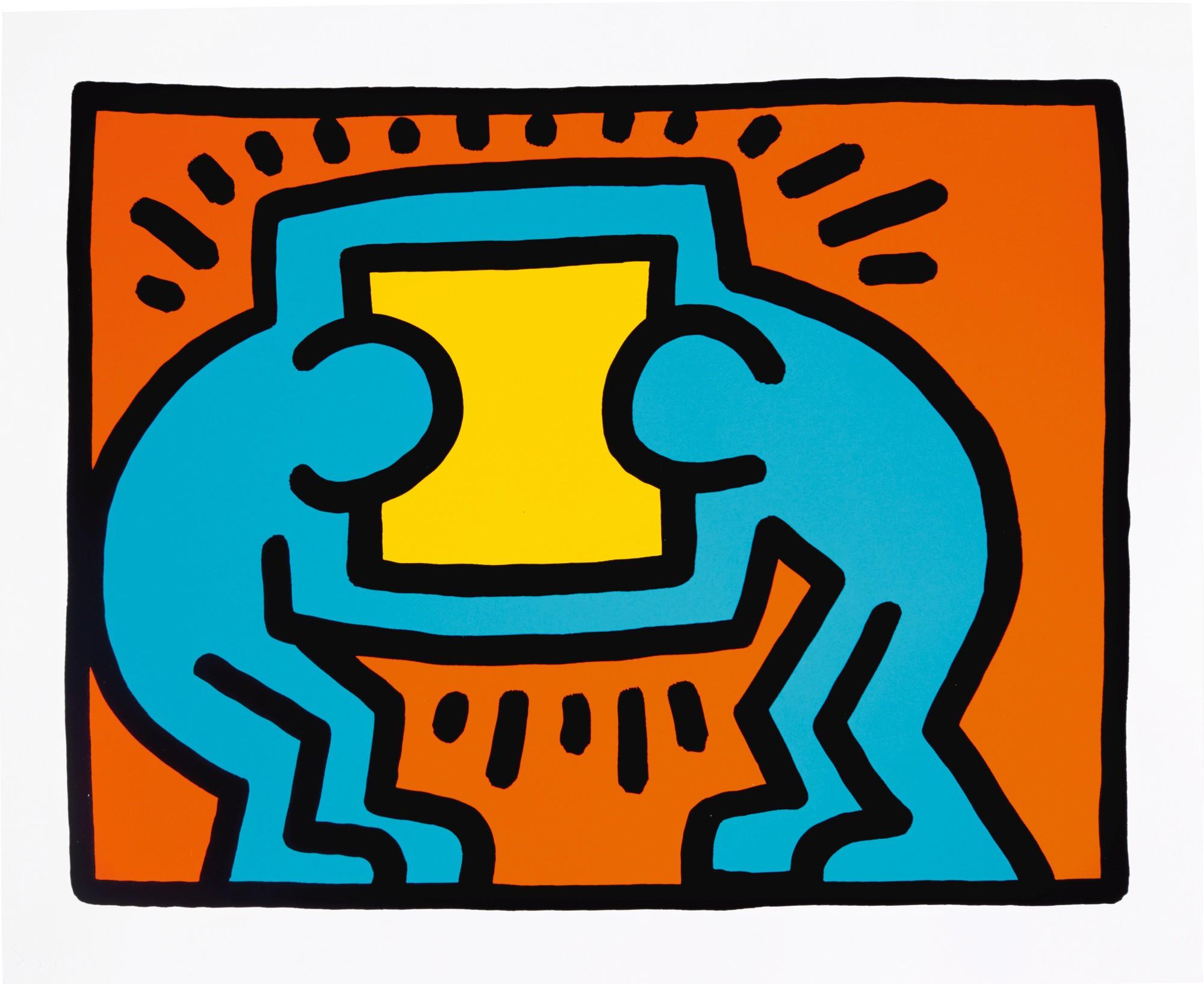 Pop Shop Vi, # Vi-c by Keith Haring