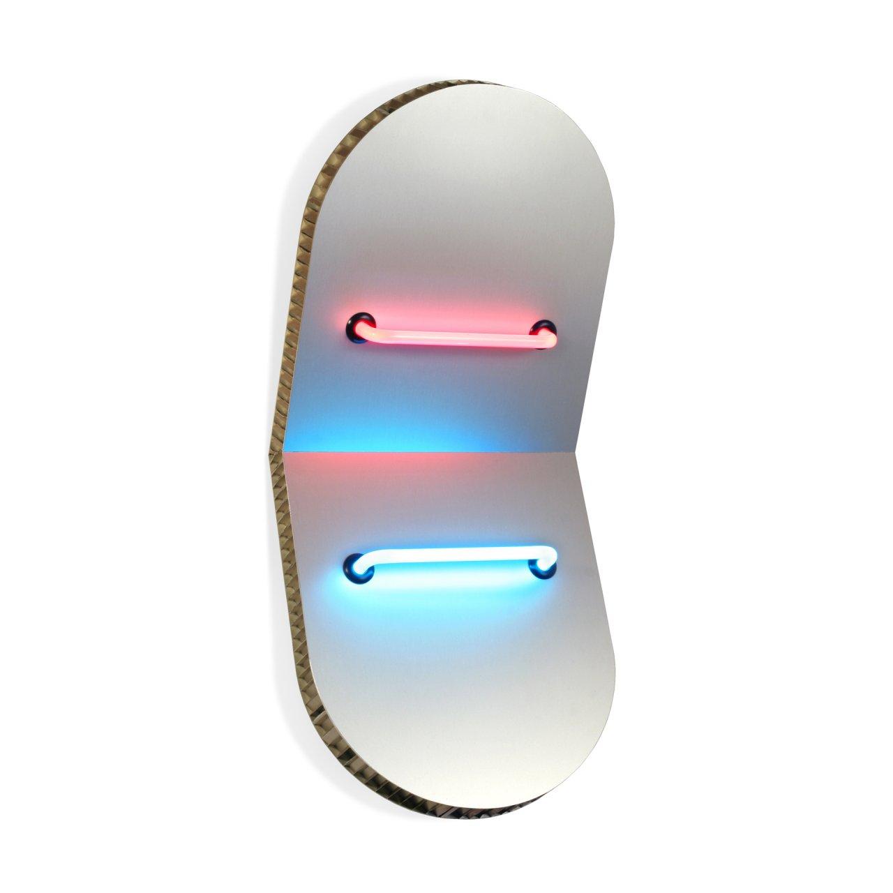 Elliptical Shields V Circular by Keith Sonnier