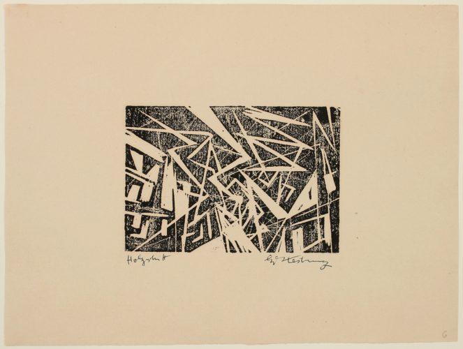 Blitze (lightning) by Edmund Kesting at