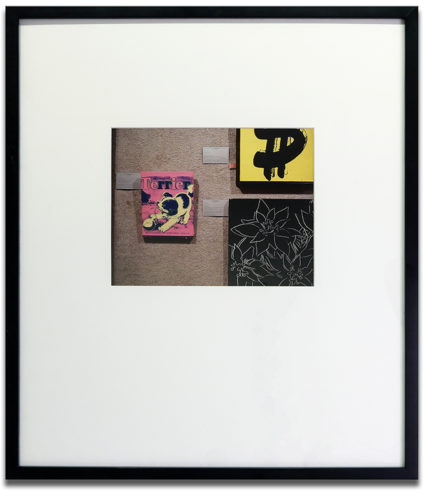Untitled (three Warhols) by Louise Lawler