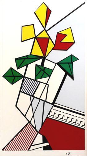 Flowers by Roy Lichtenstein