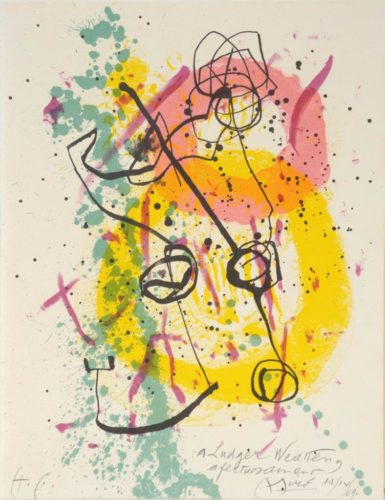 Renouveau Du Relief – Renewal Of Springtime by Joan Miro at