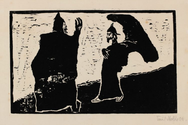 General Und Diener by Emil Nolde at Galerie Hochdruck