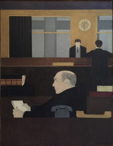 Roy Newberger by Will Barnet
