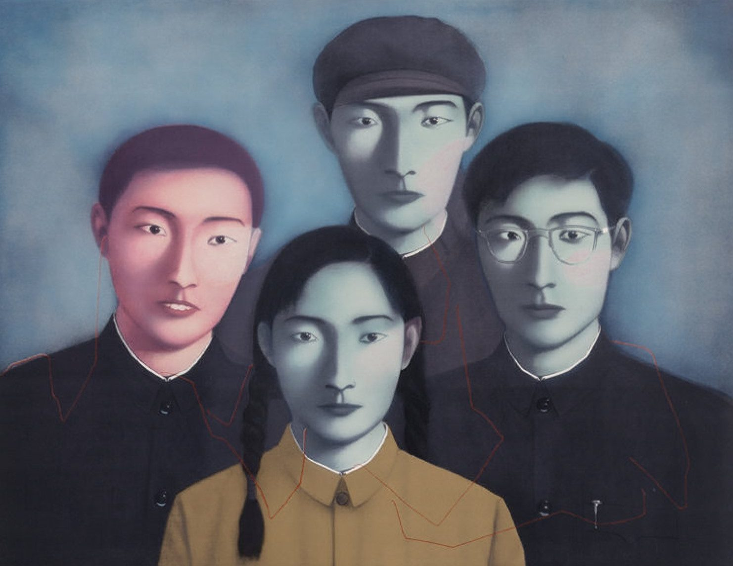 Big Family No. 1 (from Bloodline Series) by Zhang Xiaogang