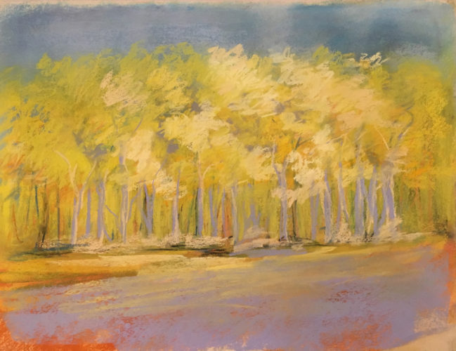 Spring Leaves by Kathy Buist