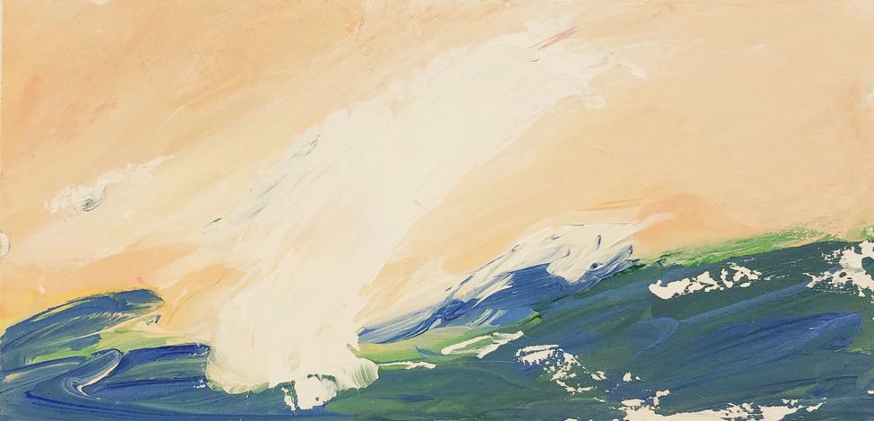 Summer Seas I by Elizabeth DaCosta Ahern