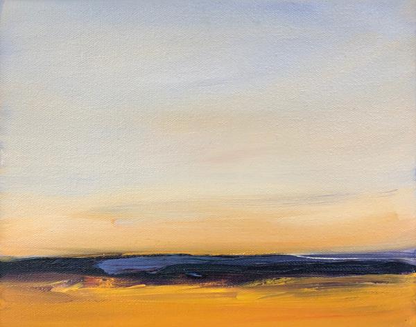 Fields Of Lavender by Elizabeth DaCosta Ahern