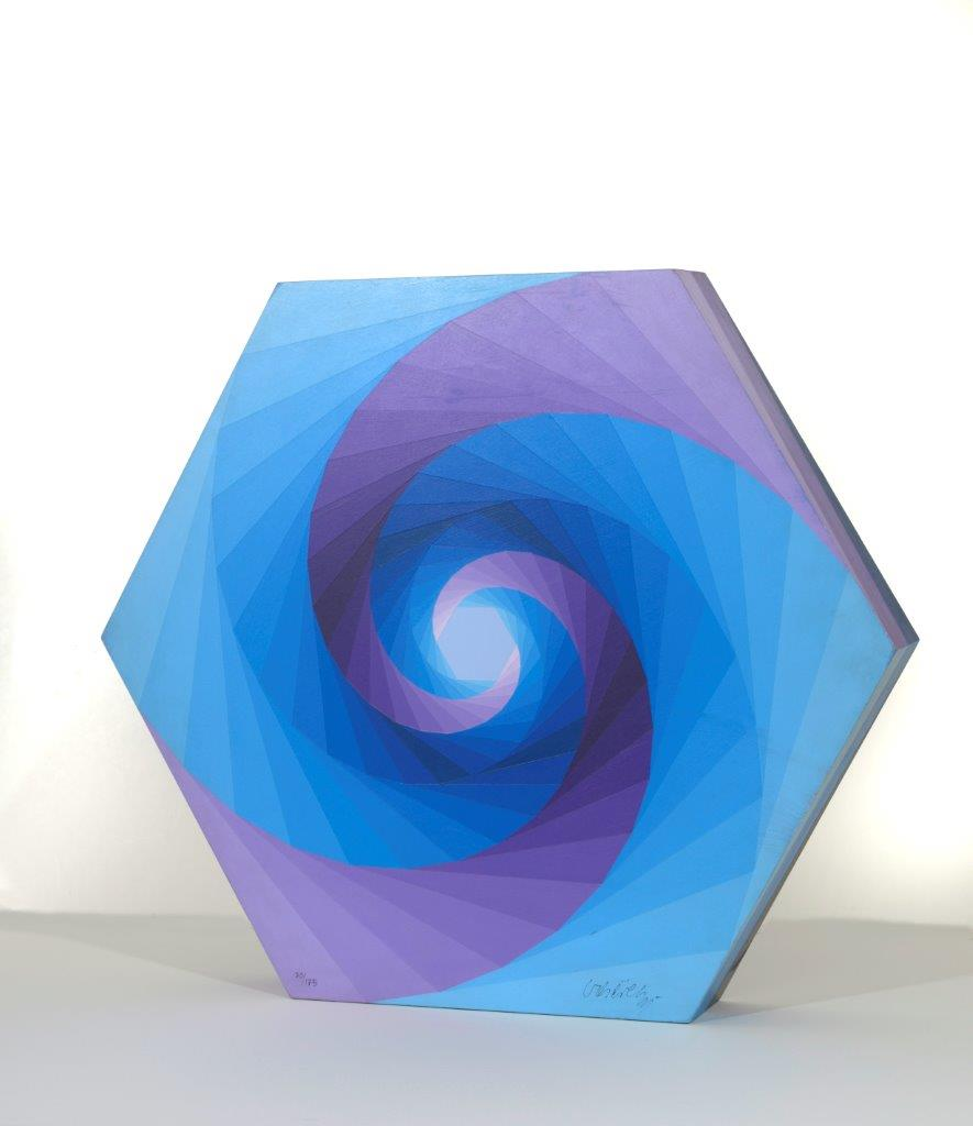 Tsillag by Victor Vasarely