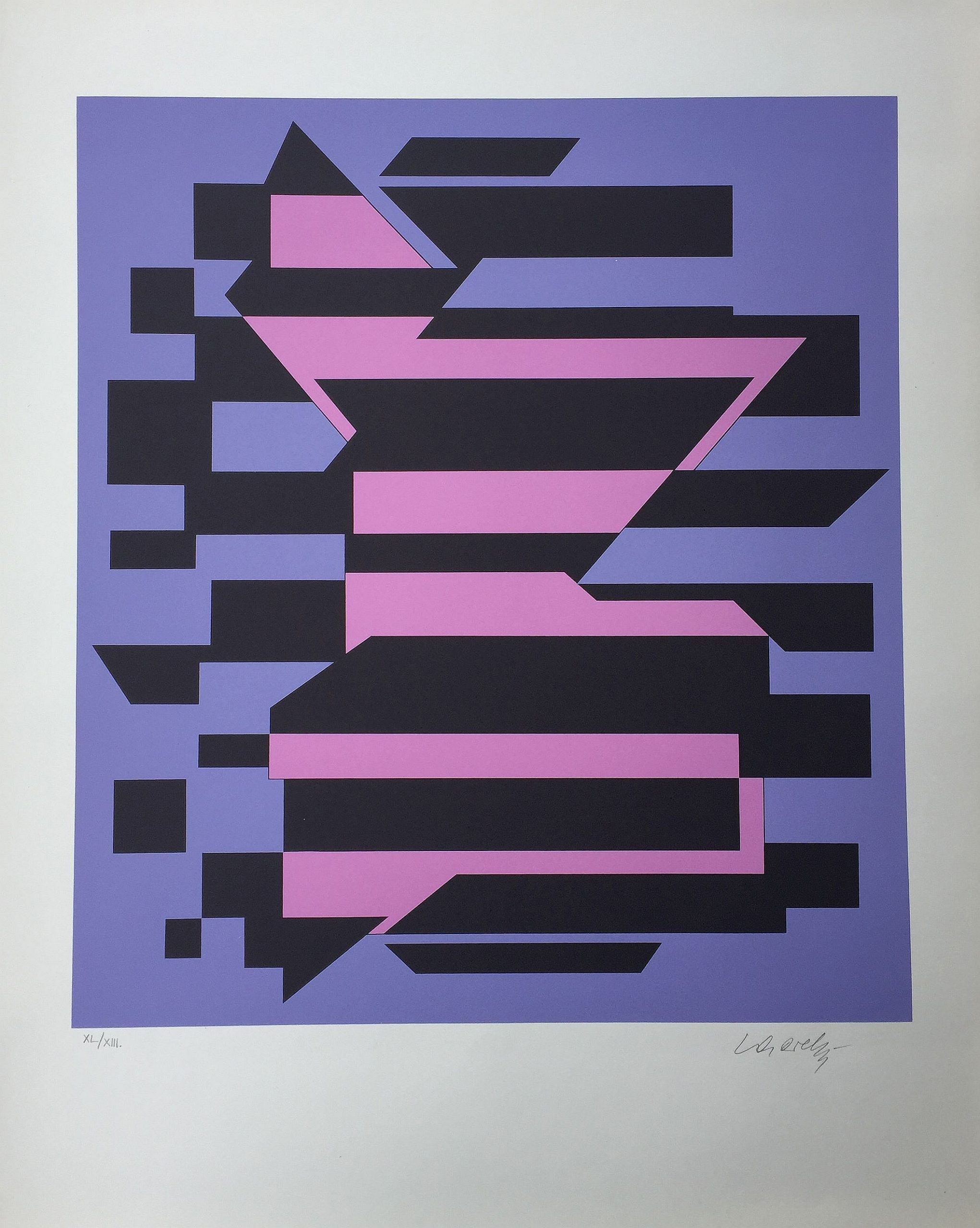 Flores by Victor Vasarely