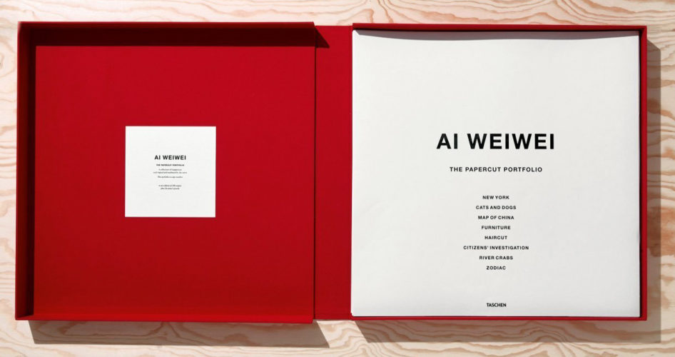 The Papercut Portfolio by Ai Weiwei at