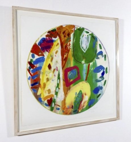Untitled by Gillian Ayres at