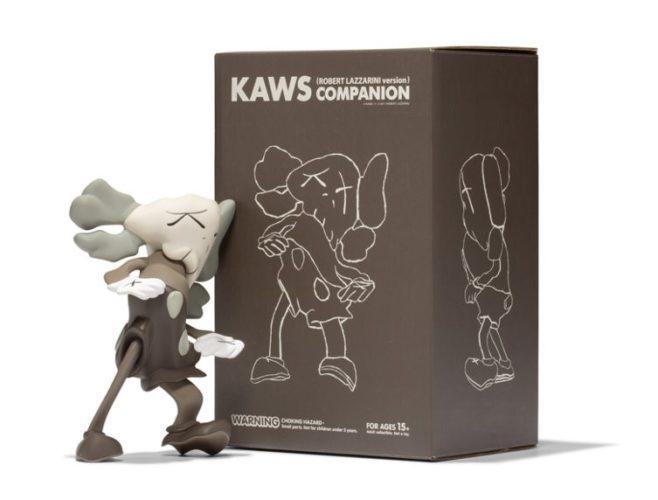 Companion (Brown) (Kaws X Robert Lazzarini) by KAWS