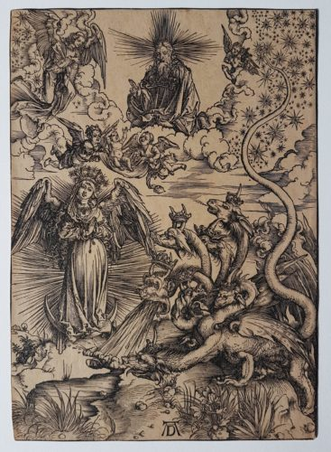 The Apocalyptic Woman by Albrecht Durer at Sarah Sauvin (IFPDA)