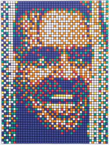 Rubik Kubrick II (Johnny) by Invader