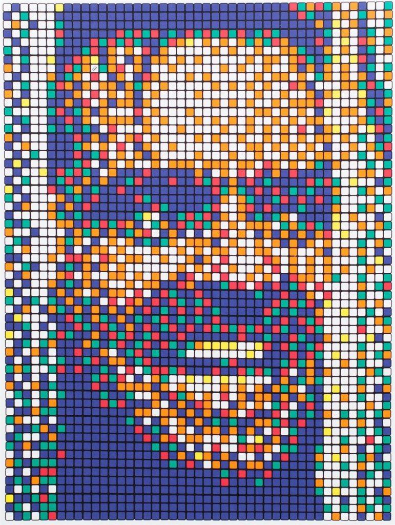 Rubik Kubrick II (Johnny) by Invader