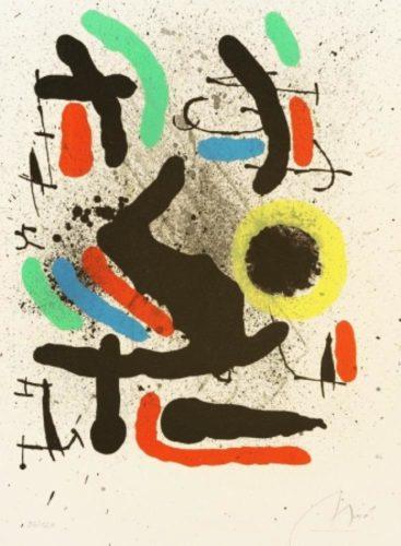 Librerté Des Librertés, No.748 by Joan Miro