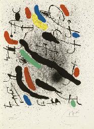 Librerté Des Librertés, No.749 by Joan Miro