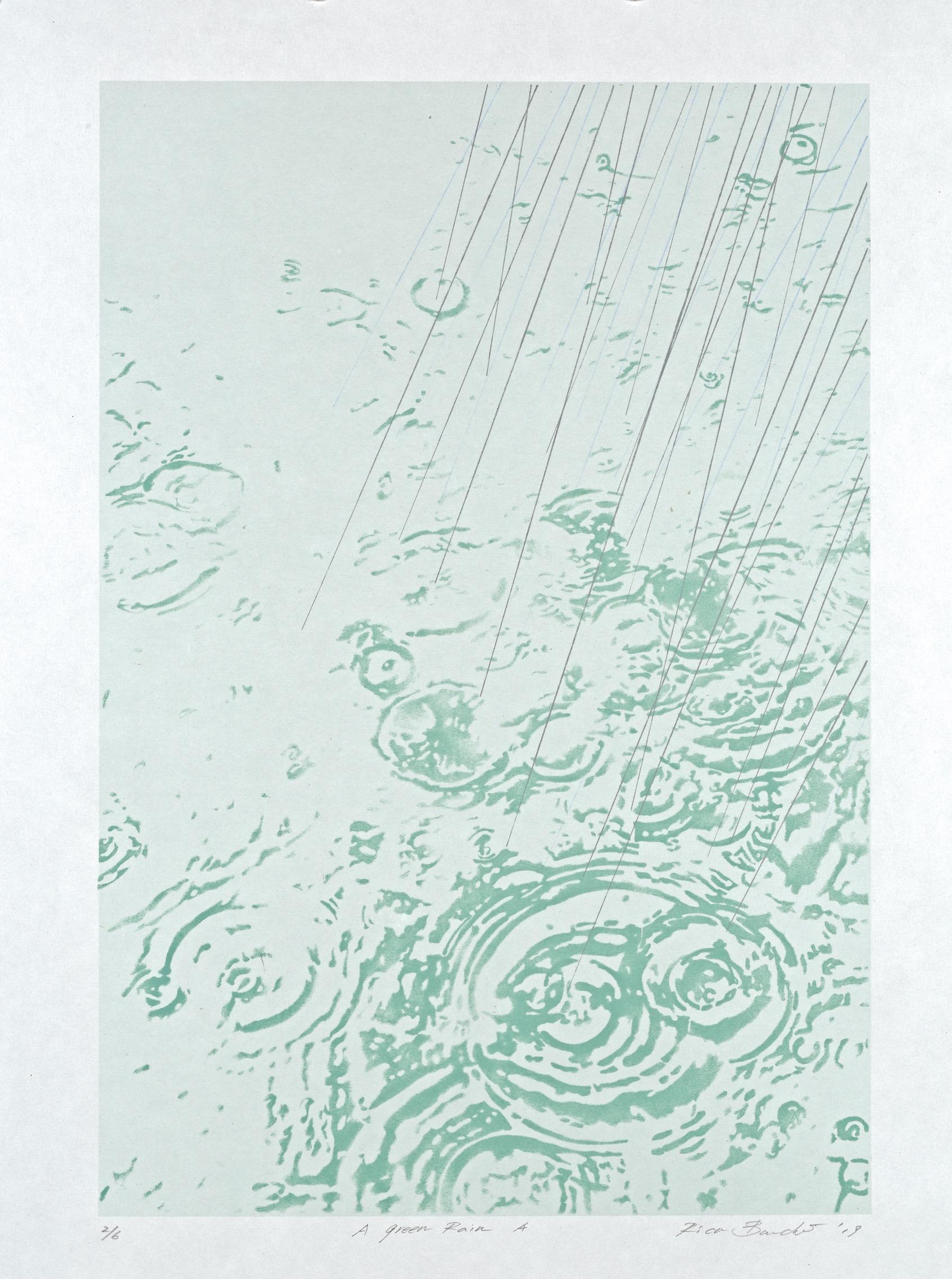 A Green Rain A by Rica Bando