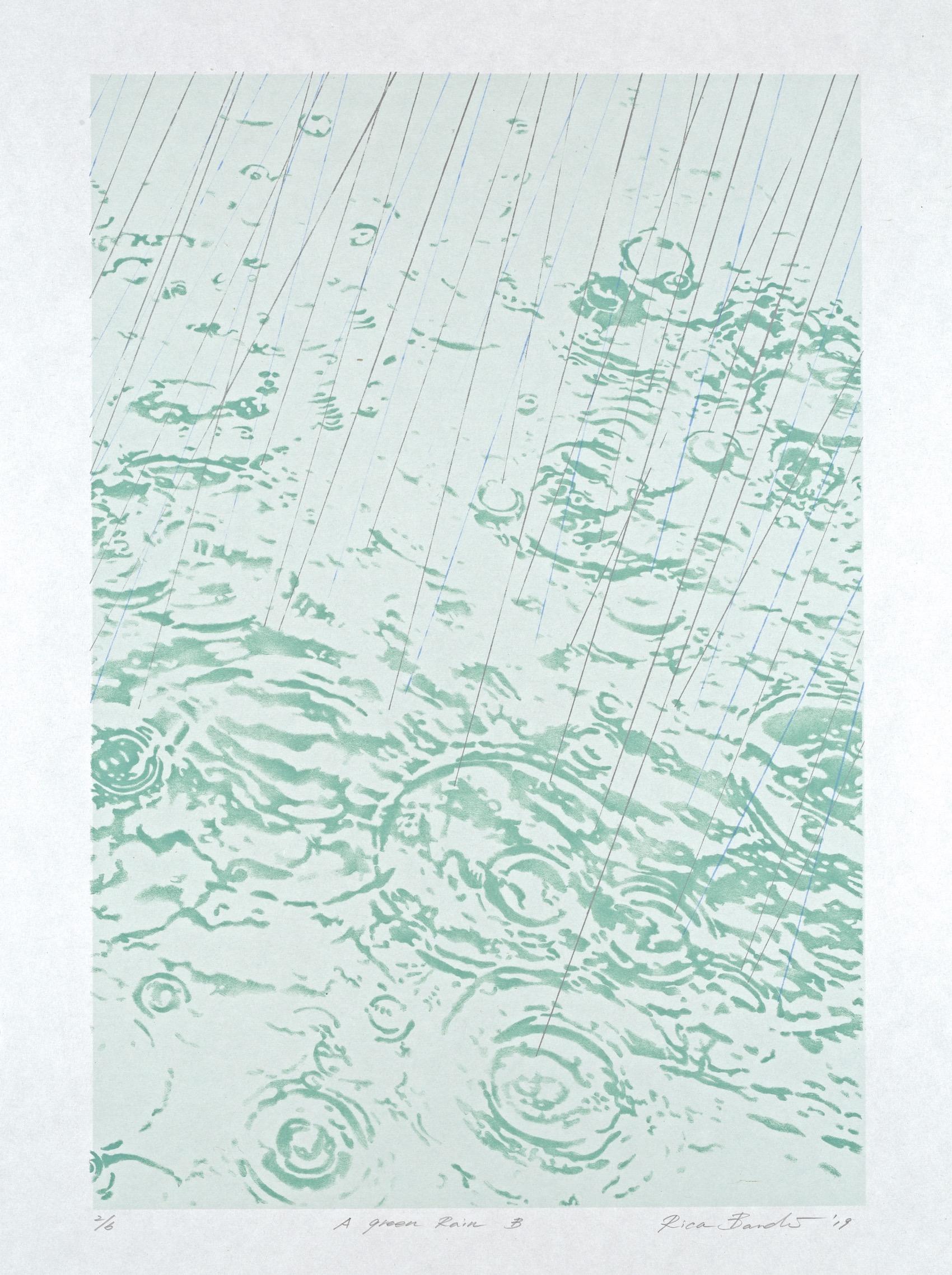 A Green Rain B by Rica Bando