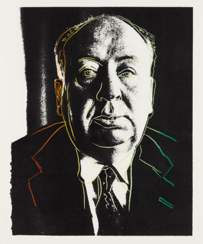 Alfred Hitchcock 1983 F&S IIIB.14a by Andy Warhol