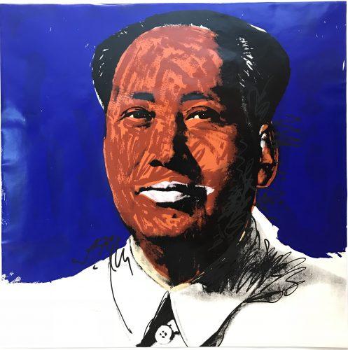 Mao 1972 F&S II.98 by Andy Warhol