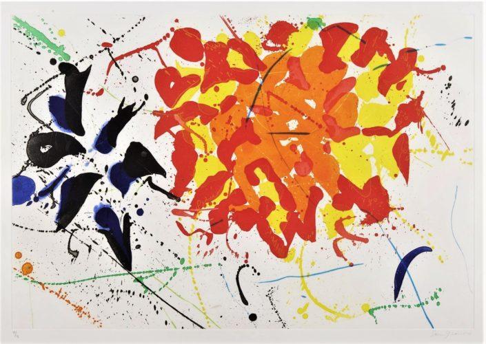 Untitled, 1992 by Sam Francis at Sam Francis