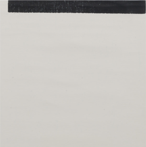 Untitled (for Tsk) by Wade Guyton