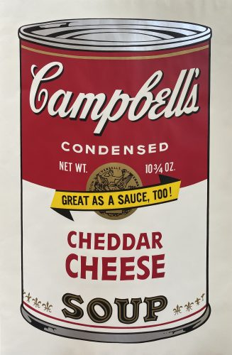 Campbell's Soup II, 1969 Cheddar Cheese F&S II.63 by Andy Warhol