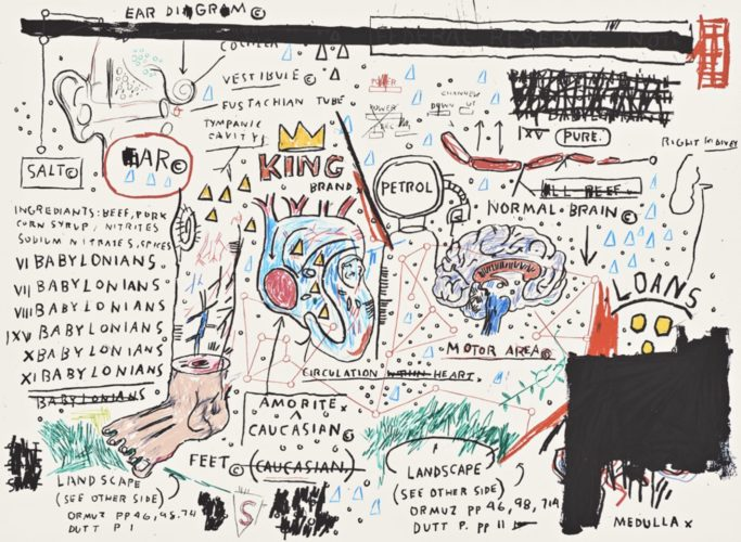 King Brand by Jean-Michel Basquiat at