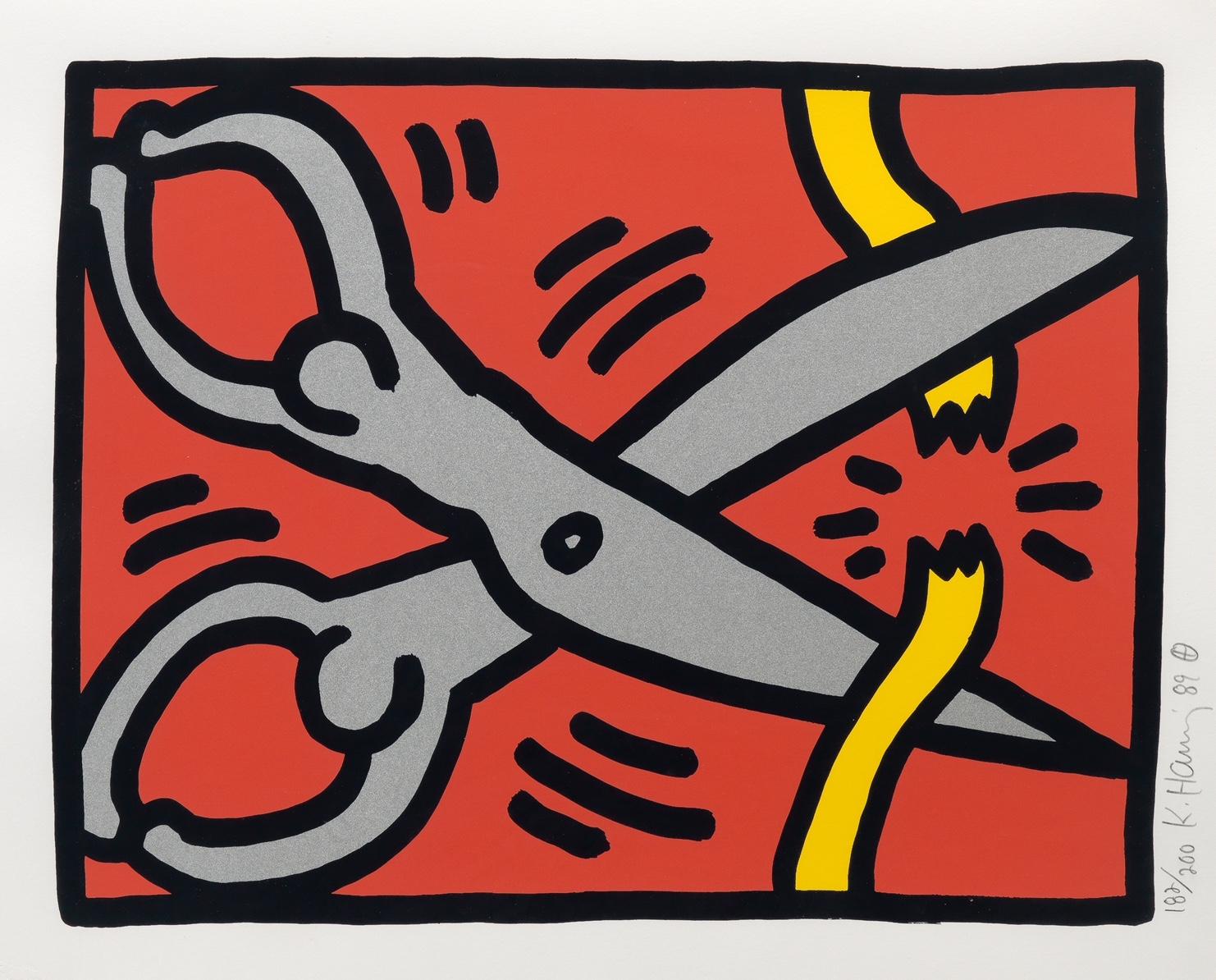 Pop Shop III, 1989 (2) by Keith Haring