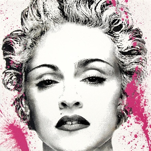 Happy B-day Madonna by Mr Brainwash