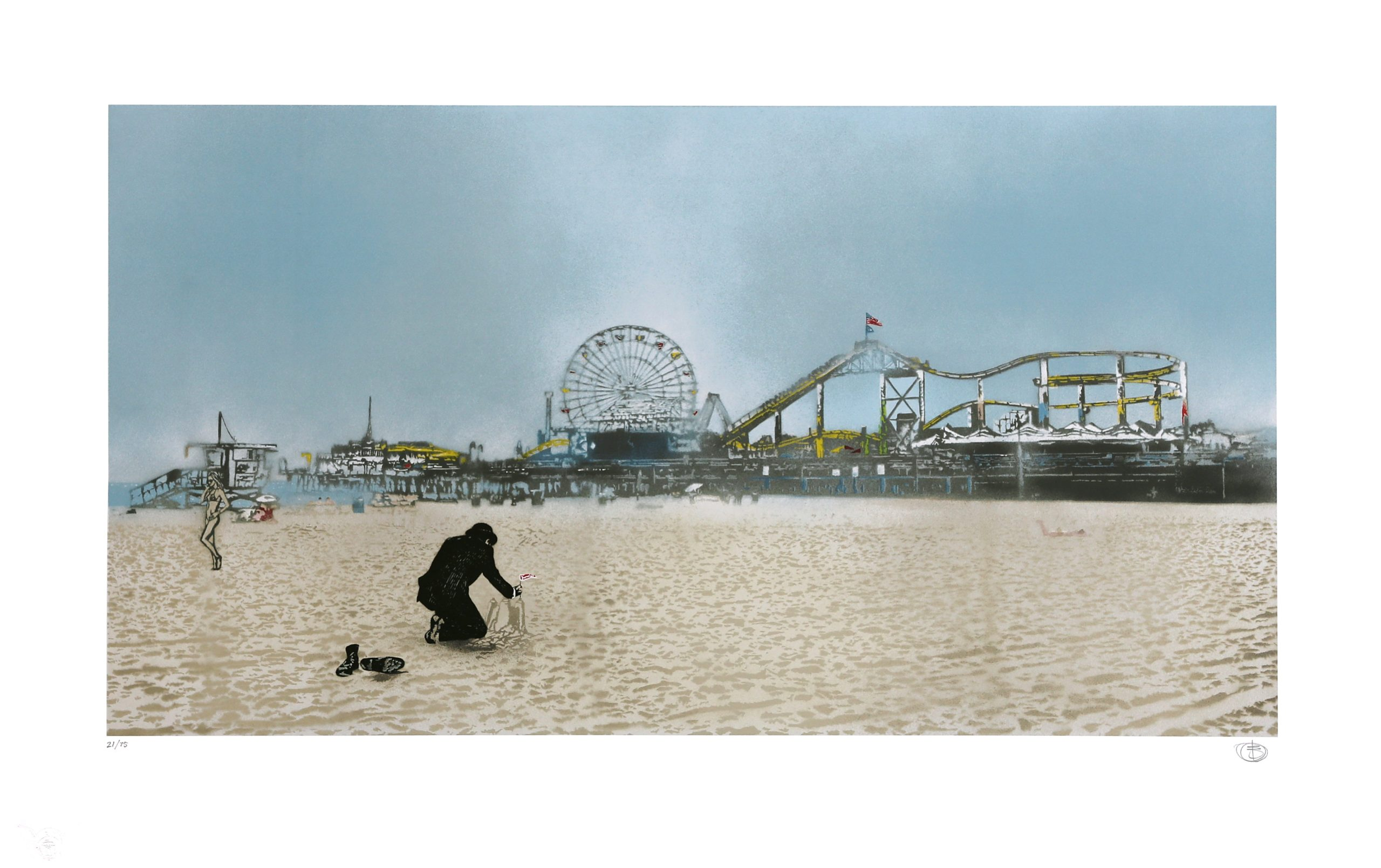 The Morning After: Santa Monica by Nick Walker