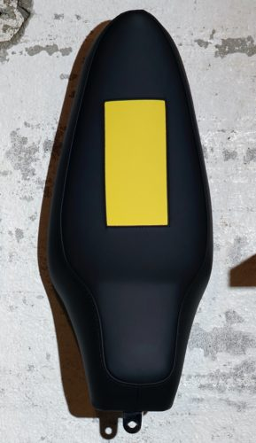 Untitled (banana Saddle) by Olivier Mosset