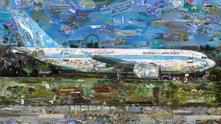 Jetliner by Vik Muniz