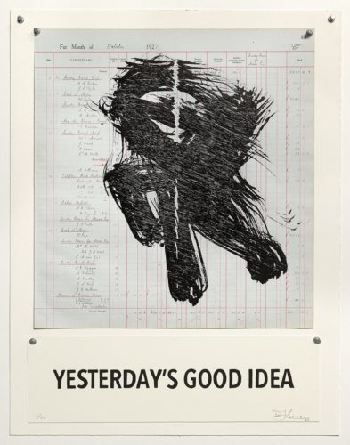 Yesterday's Good Idea by William Kentridge