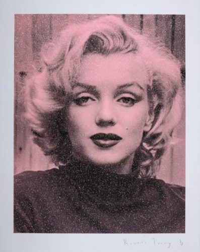 Marilyn Hollywood – Superstar Pink by Russell Young
