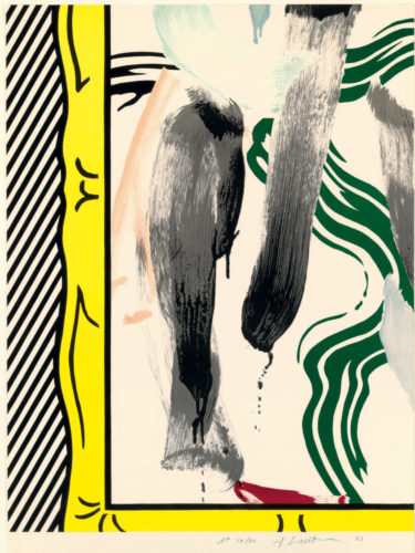 Against Apartheid (C. 200) by Roy Lichtenstein at Roy Lichtenstein