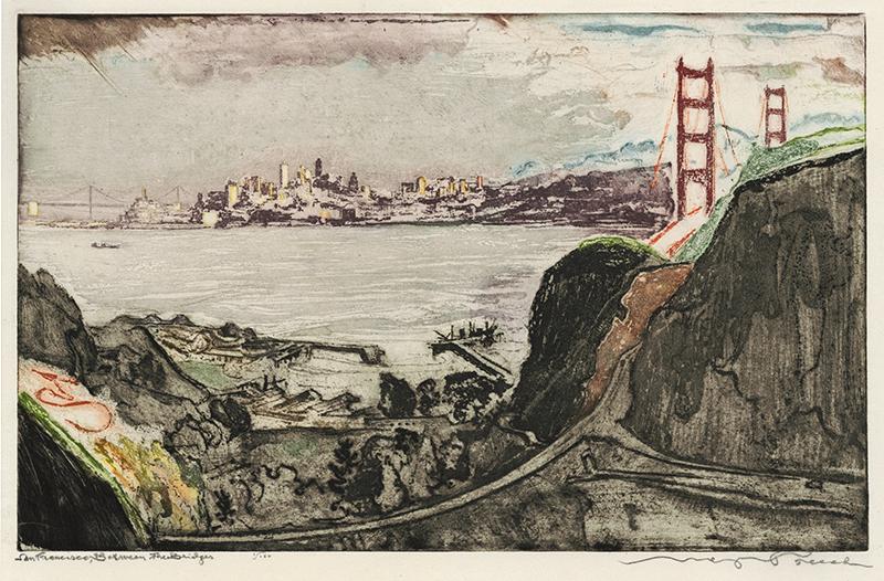 San Francisco, Between the Bridges by Max Pollak