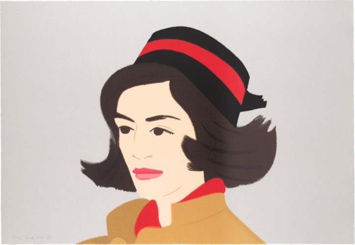 Ada in Pillbox Hat (Alex and Ada Suite) by Alex Katz