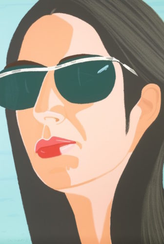 Ada with Sunglasses (Alex and Ada Suite) by Alex Katz