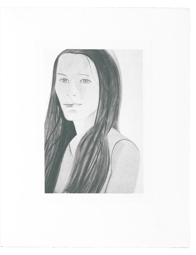Six Female Portraits by Alex Katz
