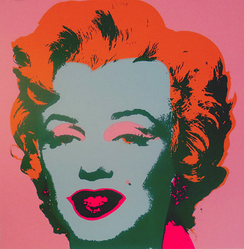 Sunday B. Mornings by Andy Warhol (after)