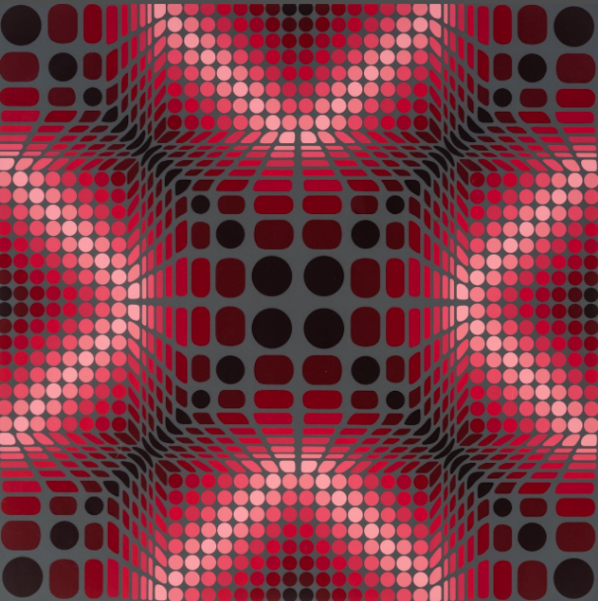 Boulouss by Victor Vasarely