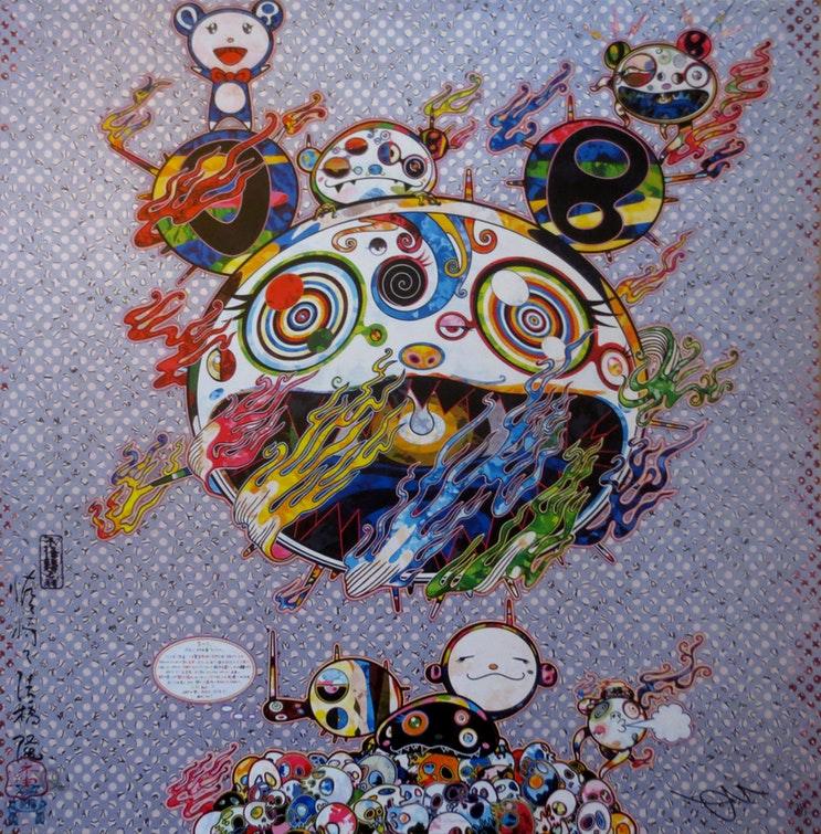 Chaos by Takashi Murakami