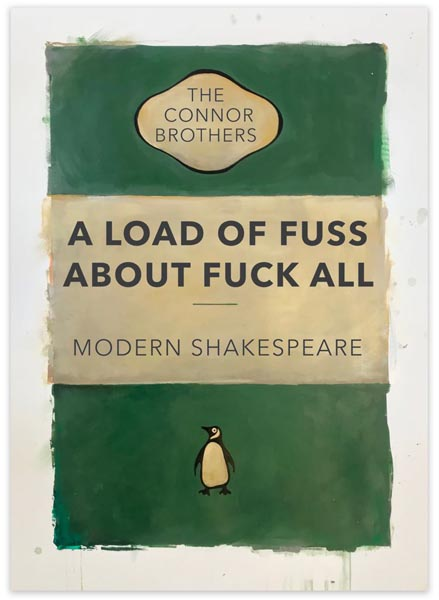 A Load of Fuss (Green) by The Connor Brothers