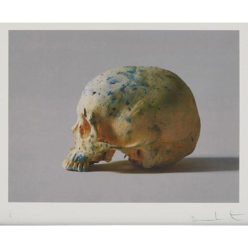 Studio Skull II by Damien Hirst